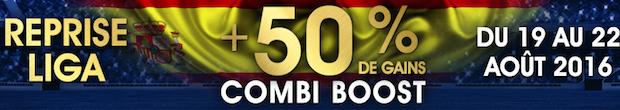 Offre combi boost spéciale reprise avec Netbet.fr