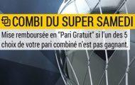 Combinés foot sur Bwin.fr : vos mises perdantes remboursées chaque samedi si vous faites une erreur