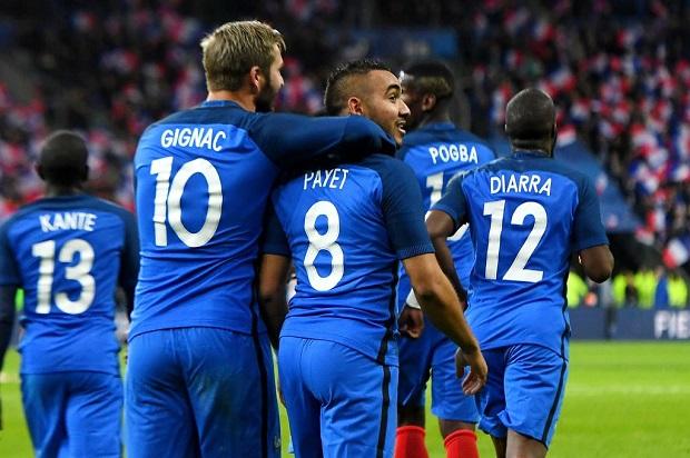 Gigac et Payet, symbole d'une équipe de France victorieuse