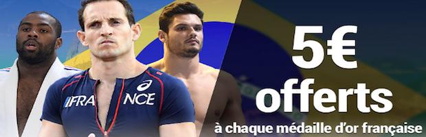 Pariez sur les JO avec France-pari.fr
