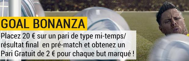 Offre Goal Bonanza avec Bwin.fr