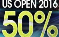 Pariez sur l'US Open avec NetBet du 29 août au 11 septembre et récupérez 50% de vos mises perdantes