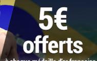 Pariez sur les Jeux Olympiques de Rio avec France Pari : 5€ offerts à chaque médaille d'or française