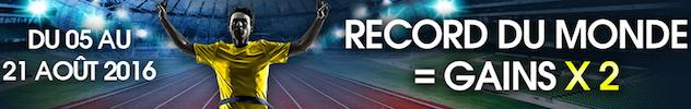 Offre record du monde J.O avec Netbet.fr