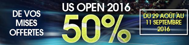 Misez sur l'US Open 2016 avec Netbet.fr