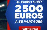 Pariez sur Biélorussie-France avec Betclic.fr : 2.500€ mis en jeu si les Bleus marquent au moins 3 buts