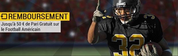 Mises perdues remboursés pour la reprise de la NFL sur Bwin