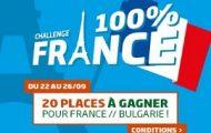 Pariez sur la L1 et la L2 sur PMU et gagnez 2 places pour aller voir France-Bulgarie le 07/10 au stade de France