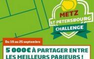 Pariez sur les tournois de tennis de Metz et de St-Petersbourg avec PMU.fr : 5.000€ mis en jeu