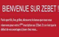 Code promotionnel ZEbet : profitez d'un bonus de paris sportifs de 150 euros à l'inscription