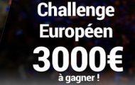 Misez sur le foot européen du 13 au 29 septembre sur France Pari : 3.000€ de dotations à partager