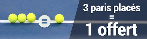 Une mise placée = une mise offerte sur le tournoi de tennis de Metz avec France Pari