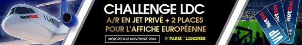 Challenge LdC sur NetBet