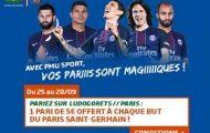 Pariez sur Ludogorets/ Paris Saint-Germain en LdC avec PMU et gagnez 5€ à chaque but du PSG