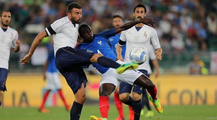 Matuidi en difficulté malgré la victoire de la France