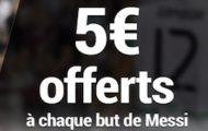 Pariez sur Barcelone/Atletico Madrid avec France Pari : 5€ offerts à chaque but de Messi le 21 septembre