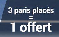 Tournoi de tennis de Metz du 18 au 25 septembre : 3 paris placés = 1 pari offert avec France Pari