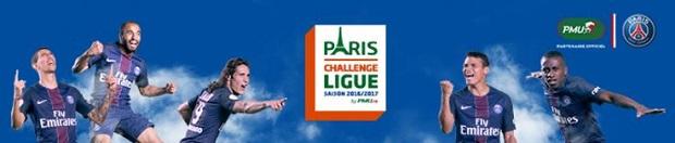 Paris Challenge Ligue sur PSG/Bordeaux avec PMU