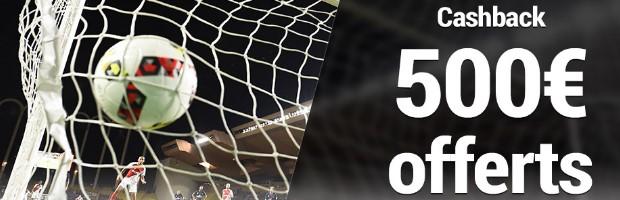 Offre Combi Football en octobre sur France Pari