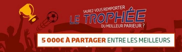 PMU trophée Coupes d'Europe du 16 au 20 octobre