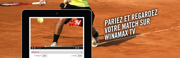 Sport en streaming direct avec la Winamax TV
