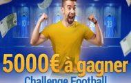 Challenge foot sur France Pari du 28/11 au 12/12 : 5.000 euros à partager entre les meilleurs parieurs