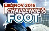 Challenge foot sur Betclic du 10 au 27 novembre 2016 : Prenez votre part des 10.000€ mis en jeu