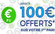 Code promo Parionsweb FDJ Sport : 100 euros offerts sur vos paris sportifs