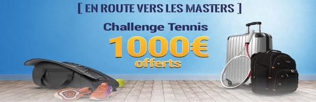 Pariez sur les Masters de Londres de tennis avec France Pari