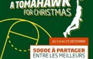 """Pariez avec PMU sur la NBA du 19 au 25 décembre : 5.000€ en jeu avec """"A Tomahawk For Christmas"""""""
