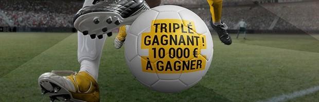10.000€ mis en jeu par Bwin avec le Challenge Football
