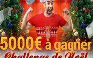 Le Challenge Foot de Noël avec France Pari : 5.000 euros mis en jeu du 16 au 24 décembre 2016
