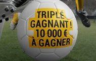 """Challenge football """"Triplé Gagnant"""" sur Bwin.fr durant le mois de décembre : 10.000€ cash à partager"""