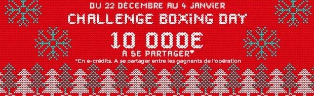 10.000€ en jeu pour le Challenge Boxing Day de Parions Sport