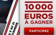 Misez sur le football entre le 9 et le 21 décembre sur Betclic : Jackpot de 10.000€ à partager