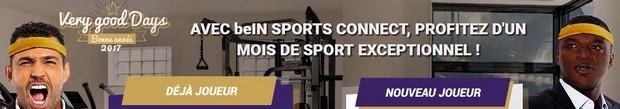 Betclic vous offre 1 mois d'abonnement à beIN sport en janvier