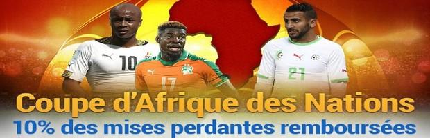 La Coupe d'Afrique des Nations 2017 avec France Pari