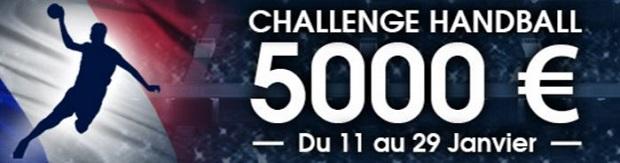 Jackopt de 5.000 euros à partager sur Netbet pour le mondial 2017 de handball