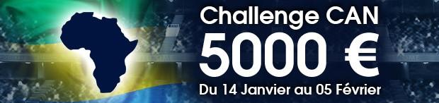 5.000€ en jeu sur NetBet pour le Challenge CAN