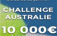 Misez sur l'Open d'Australie 2017 avec Parions Sport du 22 au 29 janvier et empochez votre part des 10.000€