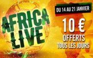 CAN 2017 sur Winamax : Pariez en live sur le match de 17h et gagnez 10€ pour miser sur celui de 20h