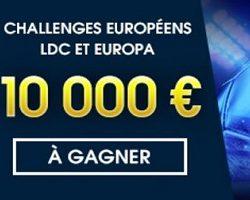 Challenges européens de NetBet du 14 février au 16 mars avec 10.000 € à partager