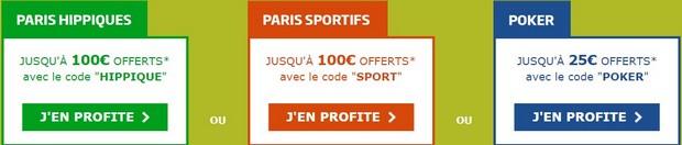 code promotionnel PMU sport