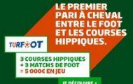 Découvrez les grilles Turfoot de PMU.fr mêlant paris sportifs et hippiques : 5.000€ mis en jeu chaque semaine