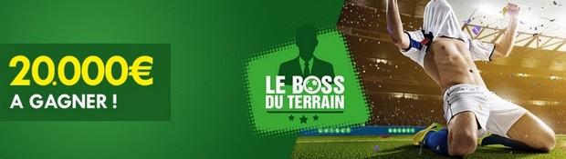 20.000€ à gagner sur Unibet en février avec le Boss du Terrain