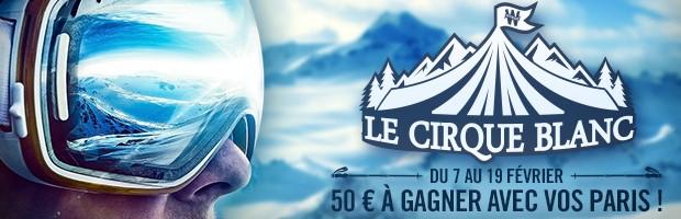 L'offre Cirque Blanc sur les Championnats du Monde de ski et biathlon avec Winamax
