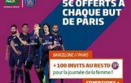 Pariez sur FC Barcelone - PSG en Ligue des Champions le 8 mars avec PMU.fr : 5€ offerts par but parisien