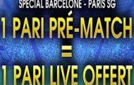 Pariez en pré-match sur Barcelone-PSG en Ligue des Champions avec NetBet : 10€ offerts pour miser en Live