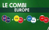 Pariez en combiné sur les 1/8ème de finale retour de la Ligue des Champions avec Unibet et gagnez 5€