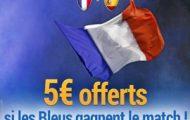 Pariez sur le match amical France-Espagne le 28 mars 2017 avec France-Pari.fr et profitez de 5€ offerts